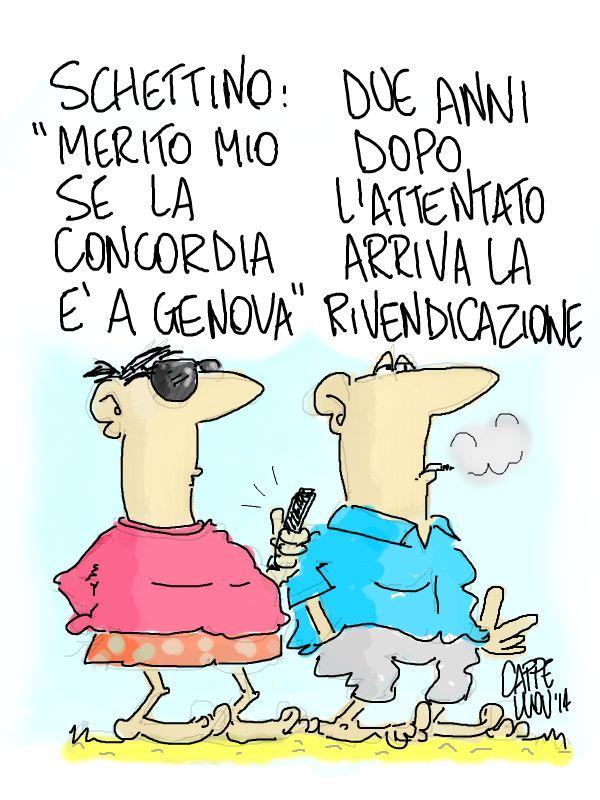 ITALOSAURI  vignette di Valeriano Cappello: brigate grosse