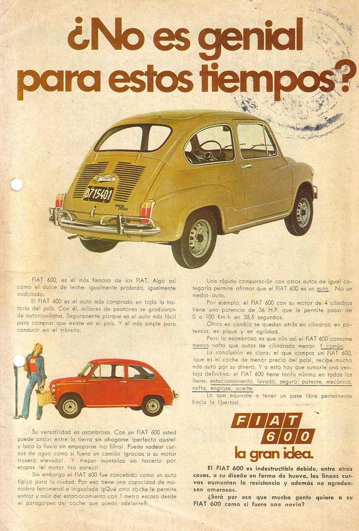 Fiat 600 R, una de las Bolitas