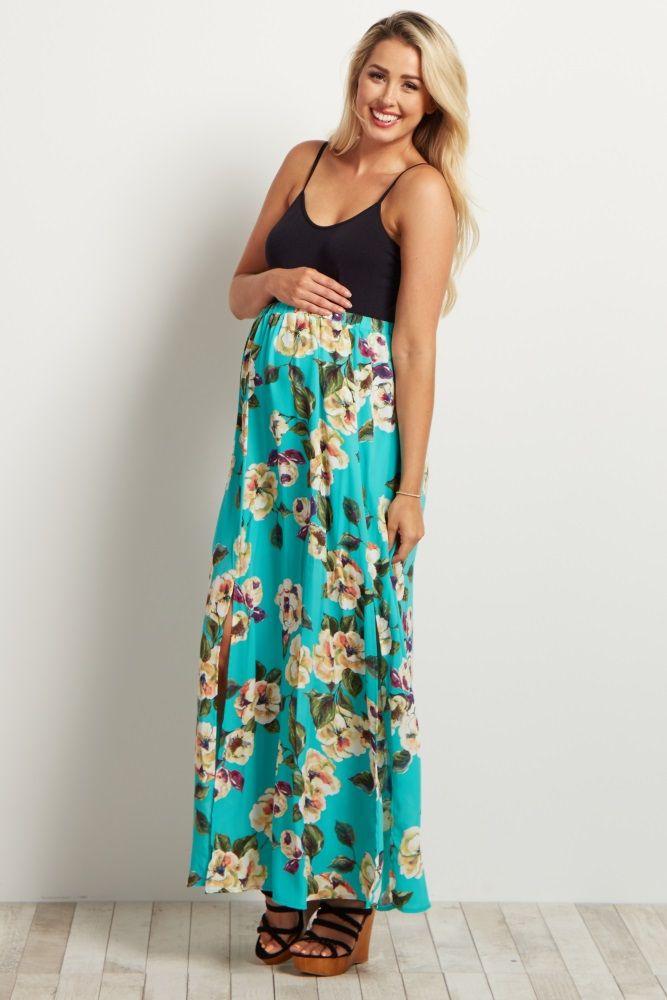 Best 25+ Maternity maxi skirts ideas on Pinterest