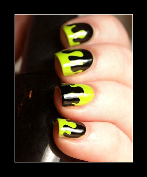 Your No-Halloween-Costume Solution: Nail Art | Halloween ...