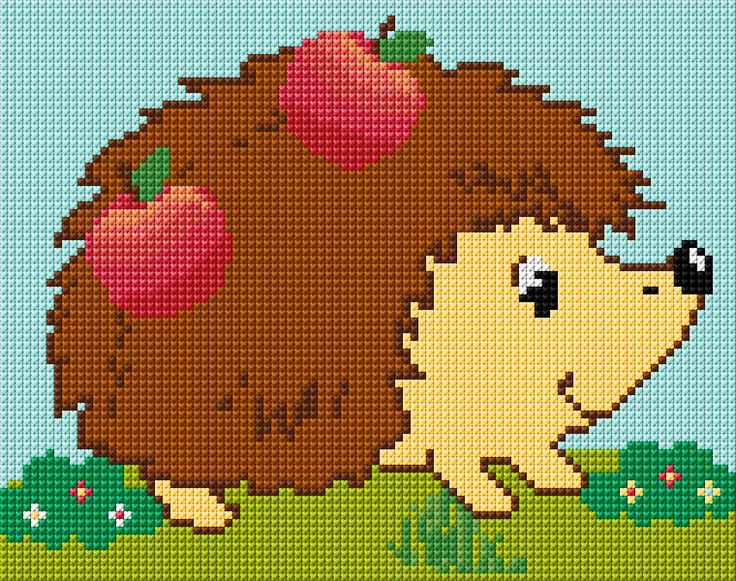 Cross Stitch | Hedgehog xstitch Chart | Design