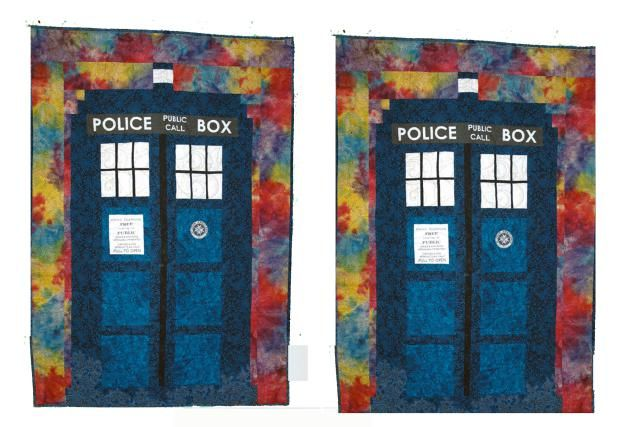 Make a TARDIS Quilt for Your Favorite Doctor WHO Fan: Have Fun Making a TARDIS Quilt