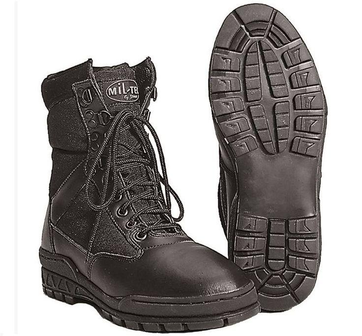 Mil-Tec Mil-Tec Stiefel SWAT Boots, schwarz / mehr Infos auf: www.Guntia-Militaria-Shop.de