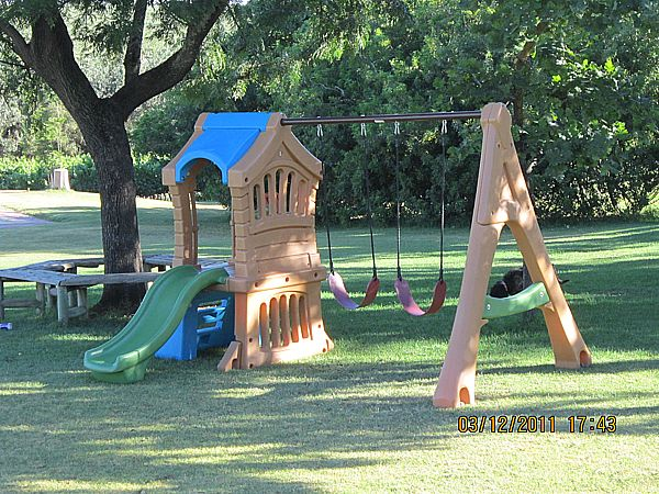 Hire swings set for kids events from BiemBie Play Swing Set