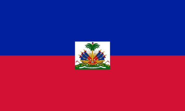 Vessels sailing under the Haiti Country Flag are required to have on board this flag as part of flag state requirements that derive from maritime regulations in the International Code of Signals and t