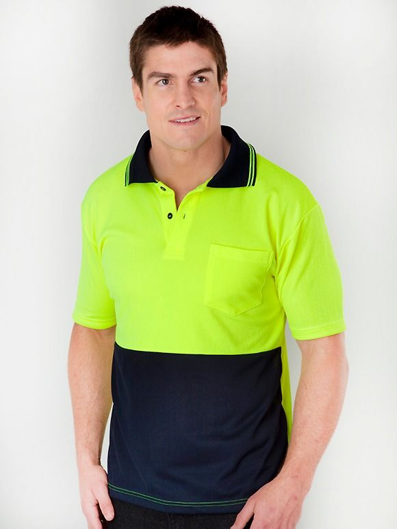 Lowes Short Sleeve Hi-Vis Polo Top