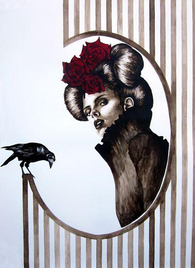 Watercolor on Paper - 60x80 - 2012- Angela Di Folco