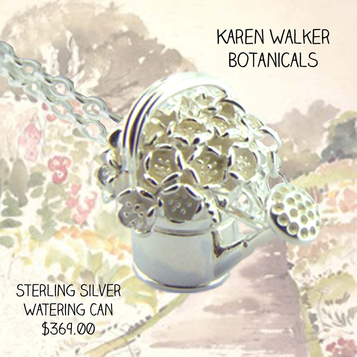 Brand new Karen Walker in store!! The oh-so sweet wartering can pendant is here now!