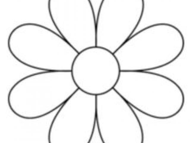 8 Petal Flower Template 23 705 X 705 Carwad Net Flower