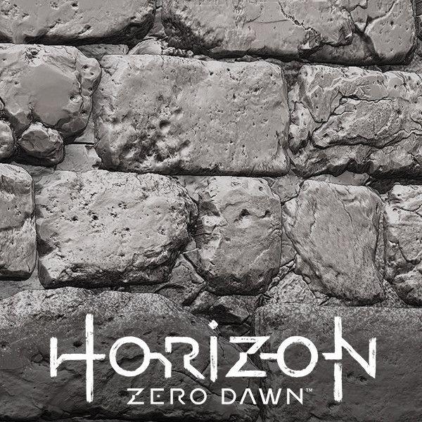Horizon: Zero Dawn - High poly textures, Stefan Groenewoud on ArtStation at https://www.artstation.com/artwork/e1xGb