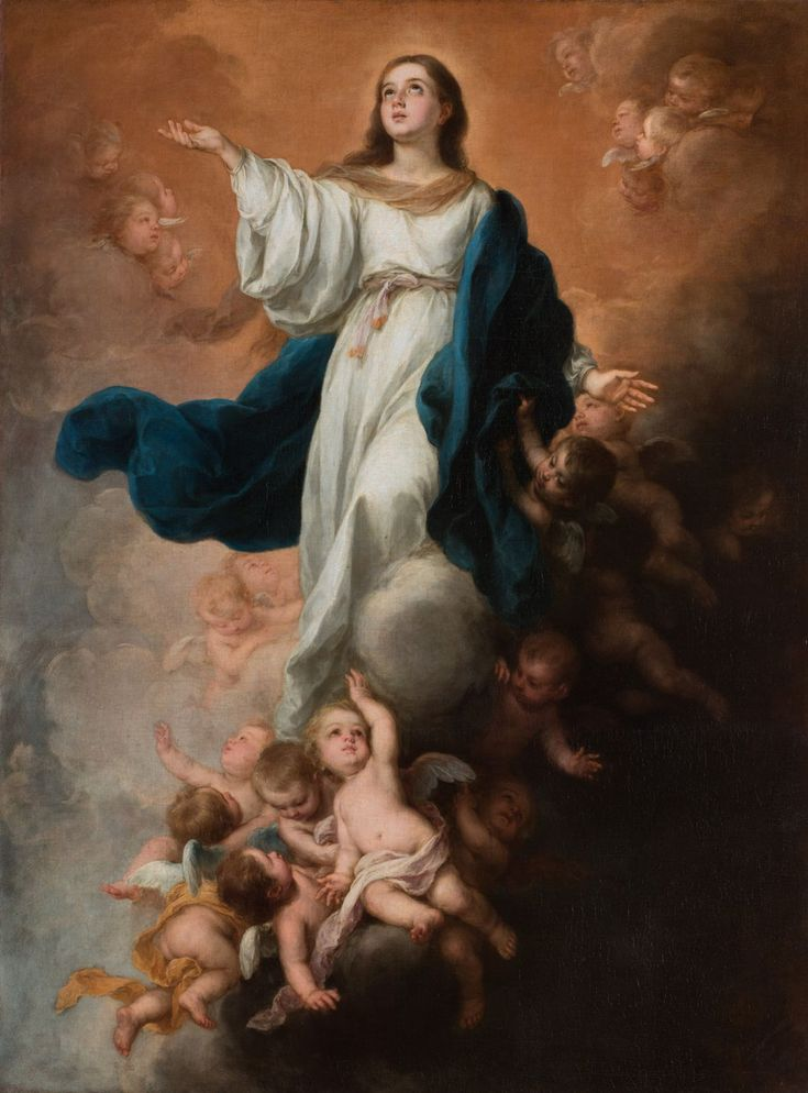 Believing, Murillo was equal to those monks who devoted their brushes, in the depths of the Florentine cloisters, to the exclusive glorification of God. Like Beato Angelico, he devoted his art to celebrating heavenly joys and exalting the radiant image of the Virgin.