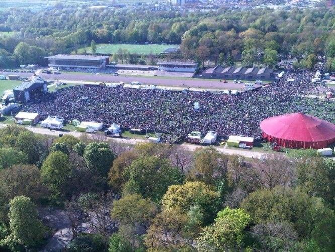 5 mei bevrijdingsfestival Stadspark Groningen