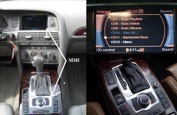 Audi Vl2-Mmi2G Mirror Link Android Iphone Windows Phone | Multimedia