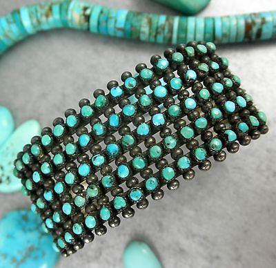 Zuni FIVE ROW Snake Eye Bracelet
