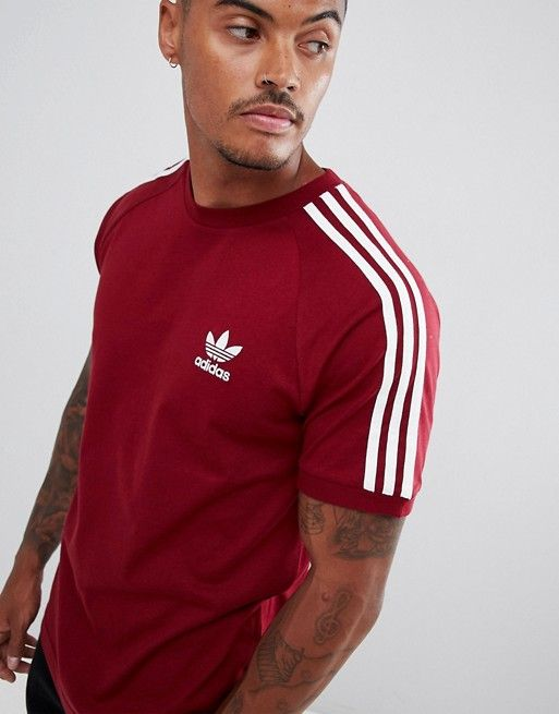 Tee Shirt Adidas Rouge 2