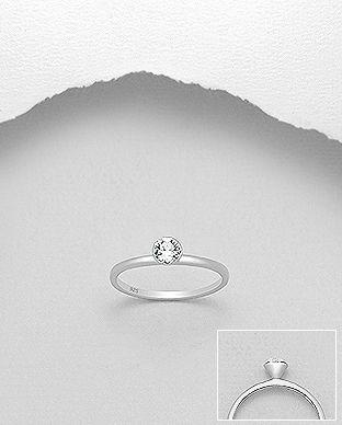 Minimalistisk og klassisk design med en enkelt, smuk Swarovski®  krystal. Perfekt til brude , konfirmander eller gaver!