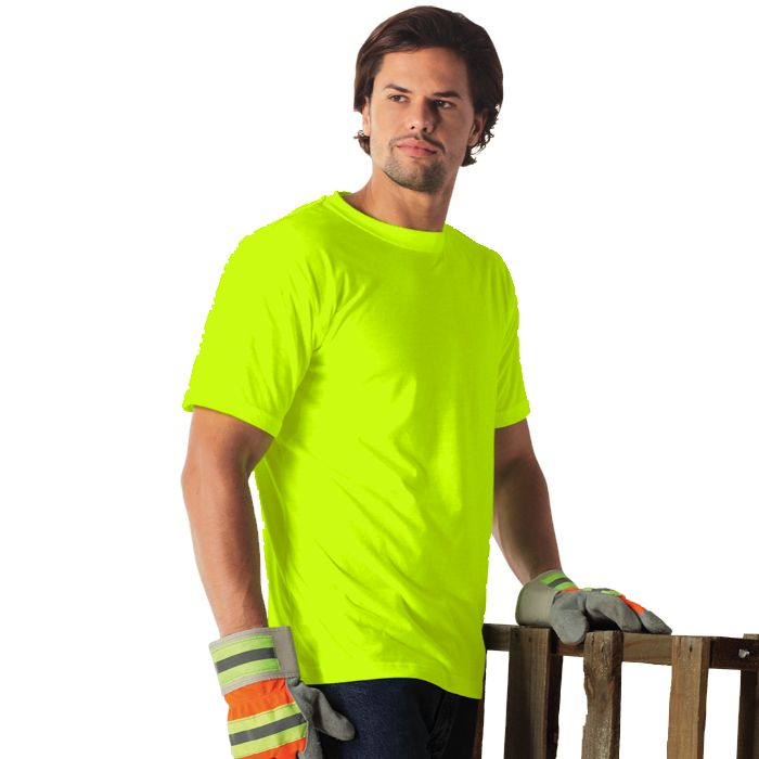 Neon T Shirts South Africa- A work wear item that comes in handy time and time again, neon t shirts offer brightly colour t shirt options for your brand. With your corporate branding on the front, back or sides, this is a god looking work wear option. With tough double needle stitching and a unisex+ Read More