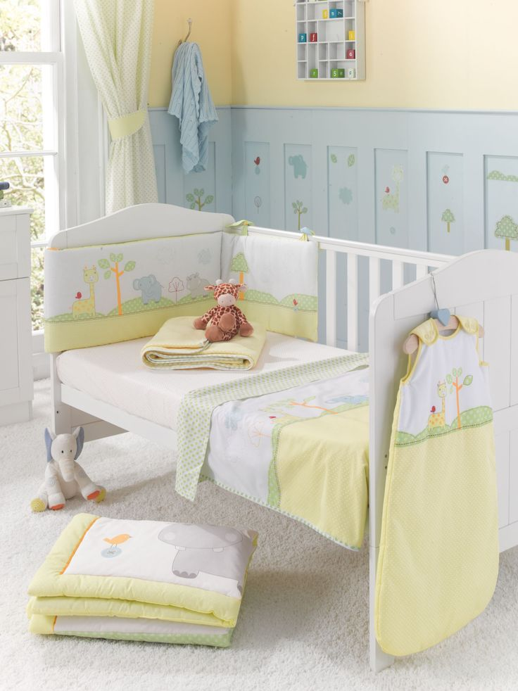 mothercare snoozie safari cot cot bed quilt