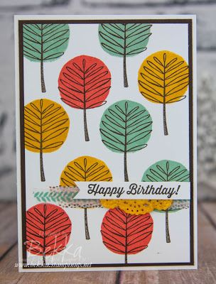 Introducing Totally Trees from Stampin' Up! UK