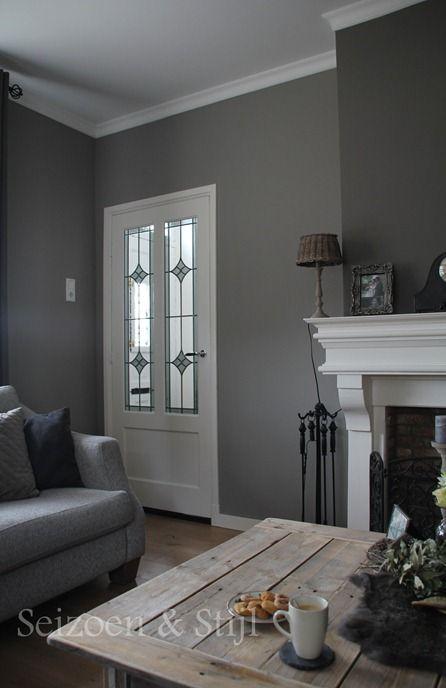 25 beste idee n over grijs accent muren op pinterest accent muren beschilderde - Donkergrijze verf ...