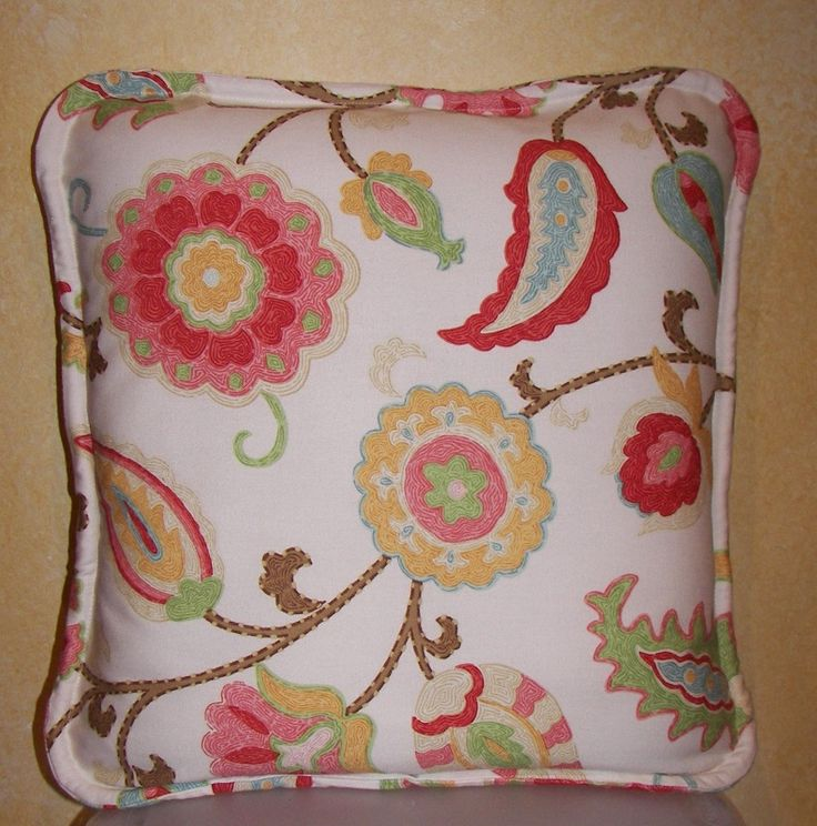 How to Make a Self Welted Envelope Pillow