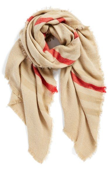 BP. Woven Stripe Scarf available at #Nordstrom