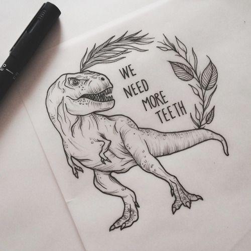 Jurassic World Tattoo
