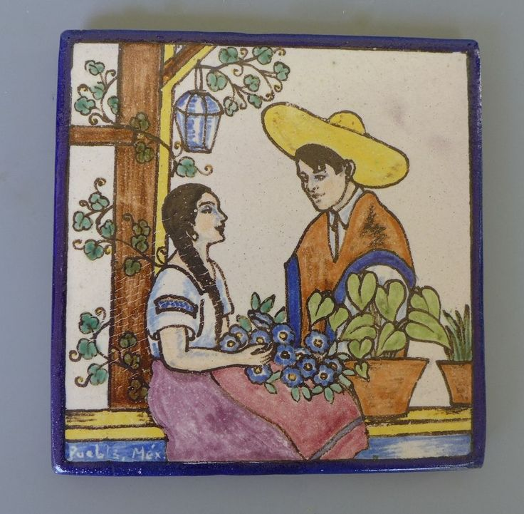 53 Best Images About Vintage Mexican Pictorial Tiles On