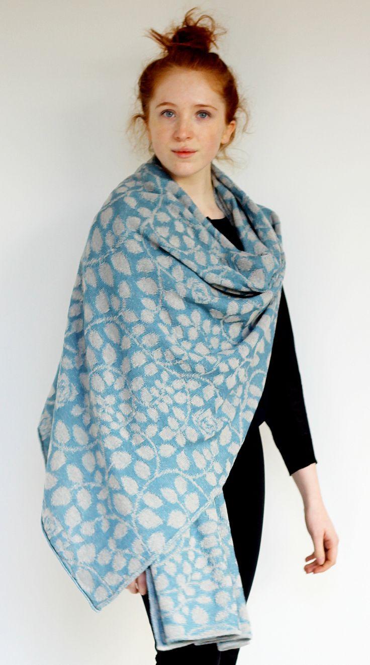 Fedelia Scarf | McKernan Woollen Mills | Handmade scarves | Made in Ireland | Irish Design | Weaving | Knitting Mens & Womens Accessories