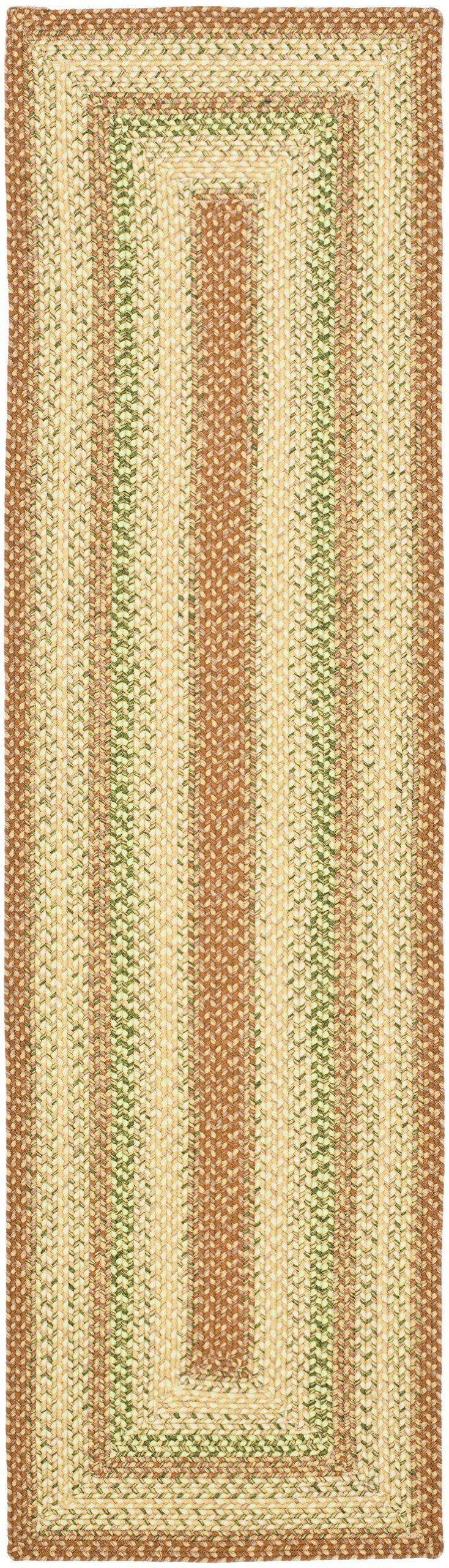Amazon.com   Safavieh Braided Collection BRD303A Handmade Reversible Area  Runner, 2 Feet