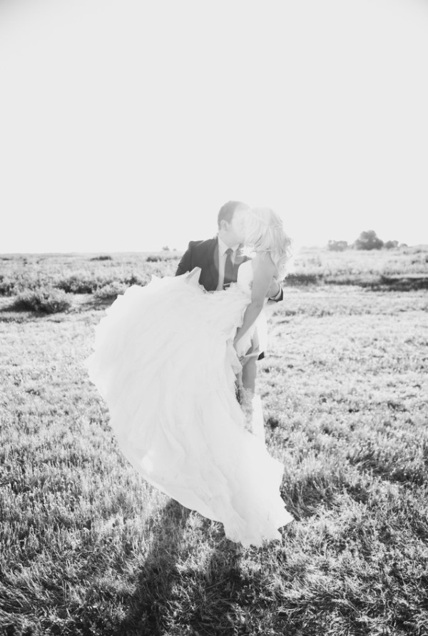We adore this #wedding photo