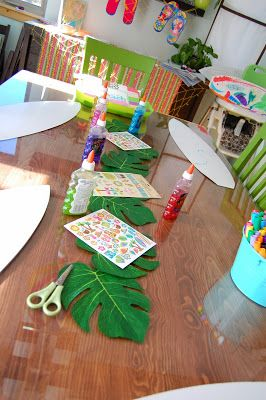 """""""C"""" is for Crafty: Teen Beach Movie Party"""