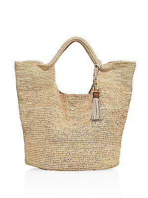 HEIDI KLEIN Raffia Bucket Bag