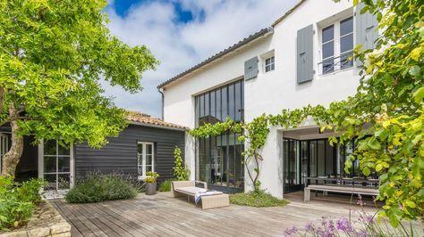 24 best maison en enfilade images on pinterest home ideas arquitetura and modern houses. Black Bedroom Furniture Sets. Home Design Ideas
