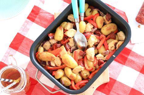 Kip met chorizo en krieltjes uit de oven – 5 OR LESS