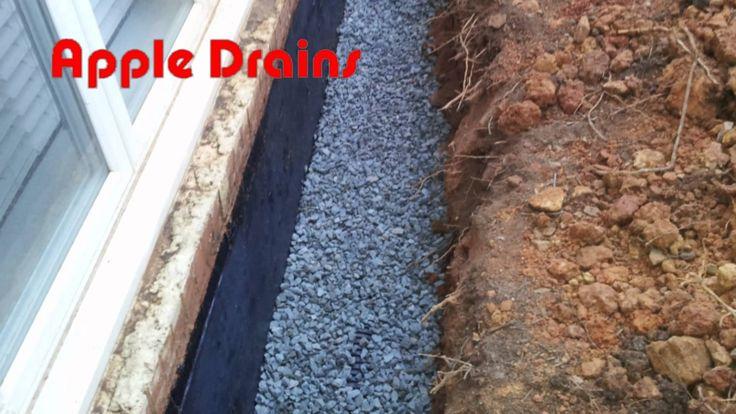 How To Basement Waterproofing Diy Exterior Wall Foundation Water Basement Window