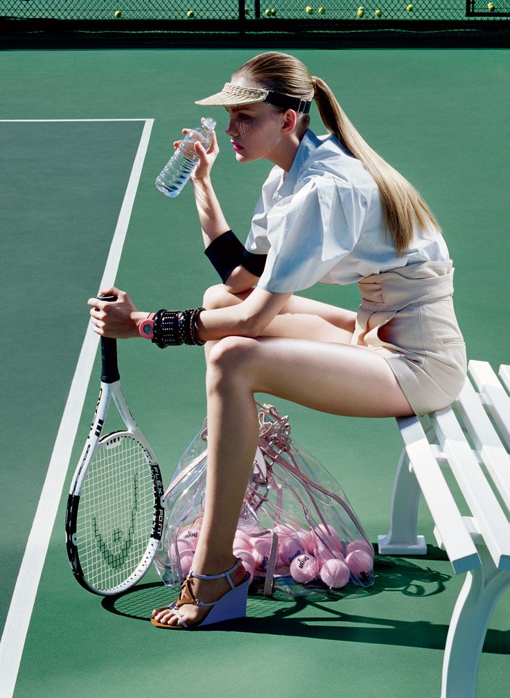 Taking Cues From the French Open: 4 Beauty Ideas for Taking a Tennis Visor Off the Court
