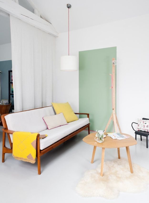 Color Block | Simple Living Room Ideas To Turn Your House Into A Home