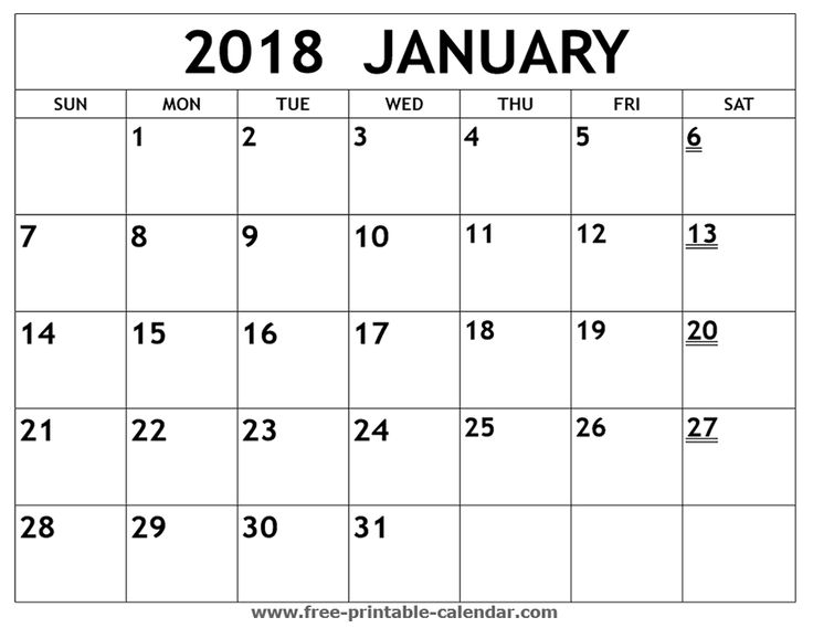 Best Print Calendars Images On   Free Printable