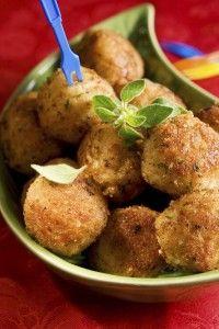 Chicken Parmesan Mini Meatballs - Italian Recipes   Paleo Recipes   Cindy's Table   Cindy Barbieri Anschutz