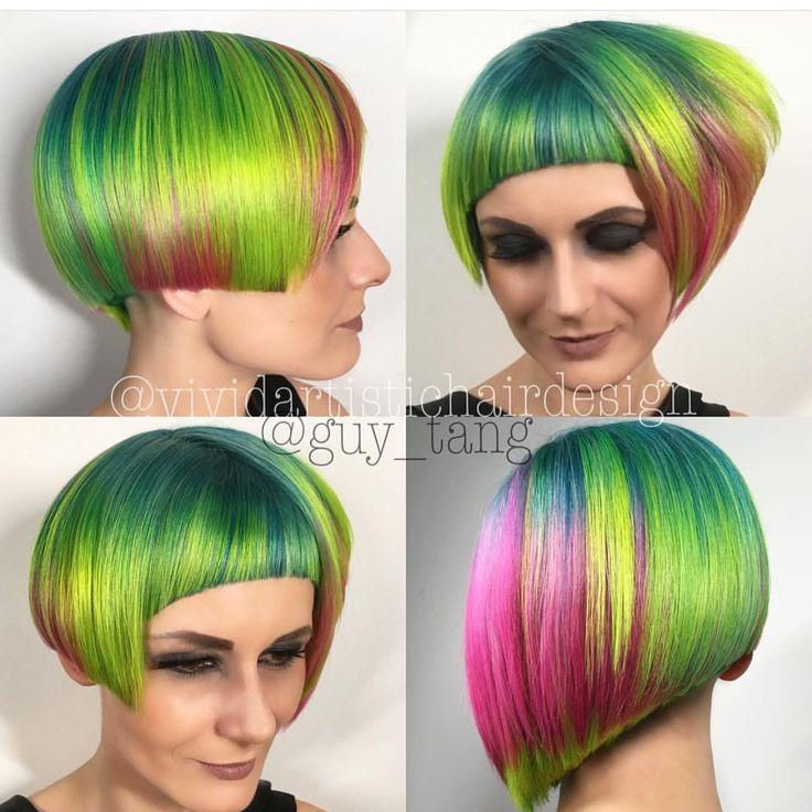 neon vivid color design rebecca