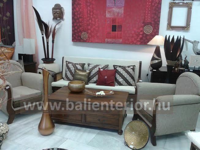 teakfa bútorok, különleges lakberendezési dísztárgyak