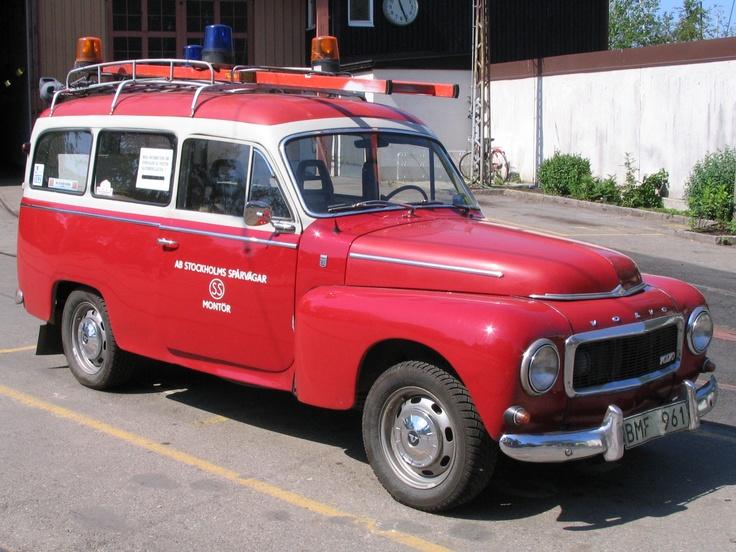 Volvo fire truck, Stockholm