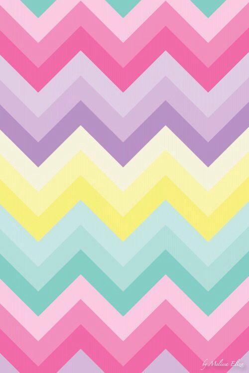 Colourful chevron