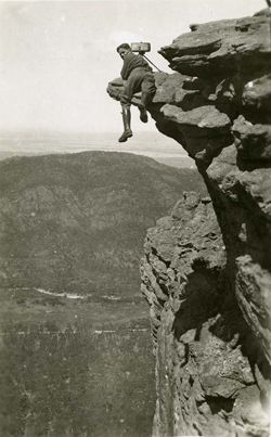 Tourist guide [Gilbert F Rogers], The Grampians Victoria 1928. Photographer: Charles Petrie