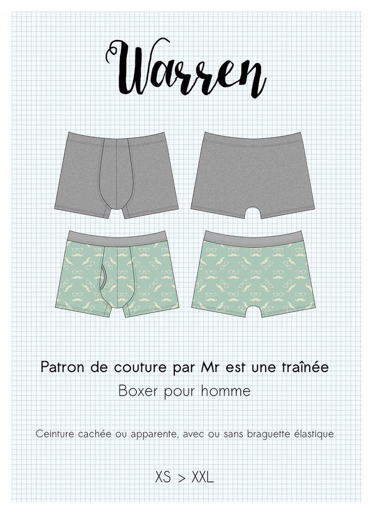Shop Patrons - Mr est une traînée, Lingerie handmade in Grenoble-city