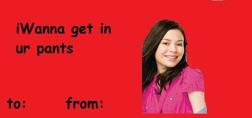 iCarly valentine stupid funny Valentines Pinterest – Icarly Valentine Cards