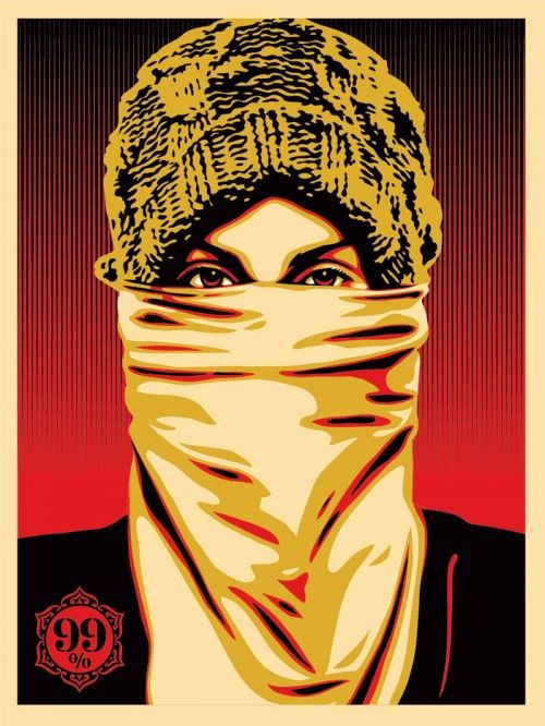 Occupy Protester by Obey