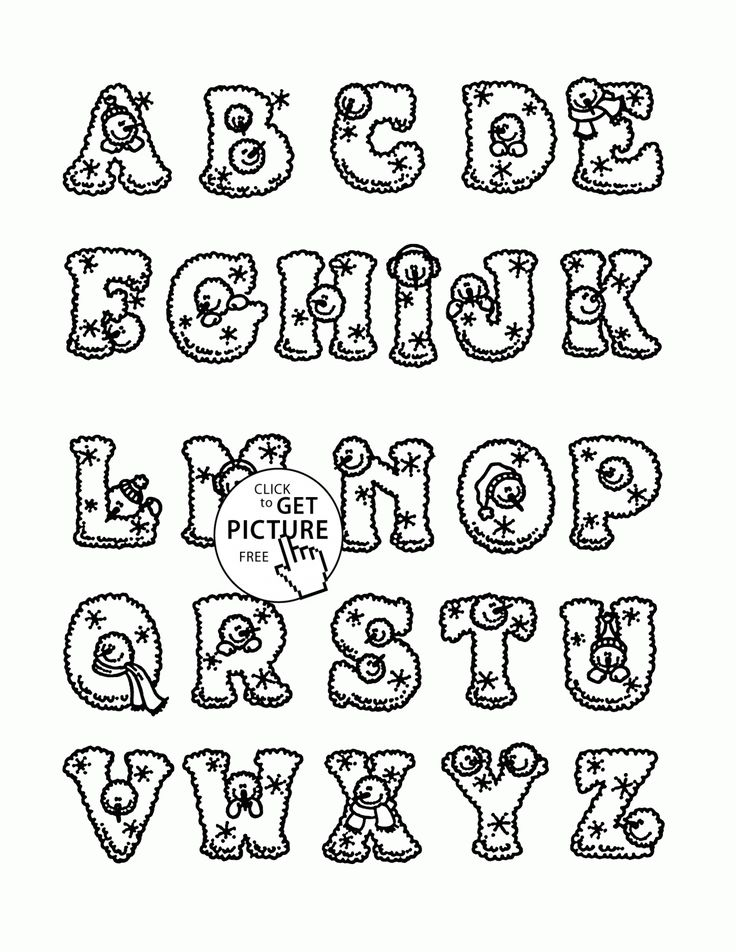 104 best alphabet u0026numbers coloring pages images on pinterest