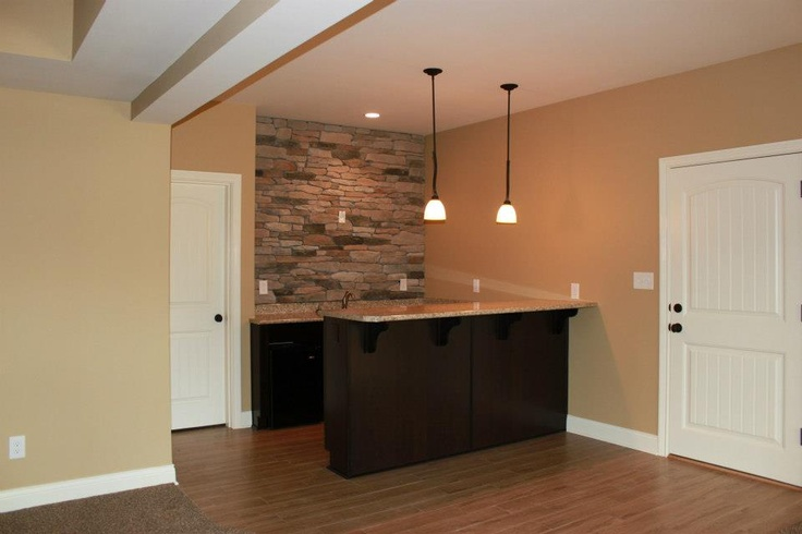 Basement kitchenettehome built by James Williams